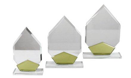Glasständerserie Rankweil 3er Set 17cm-24cm
