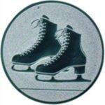 Emblem Schlittschuhe