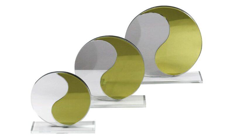 Glasvasenserie Bozen silber-klar
