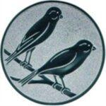 Emblem Kanarienvögel