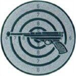 Emblem Schützen - Pistole