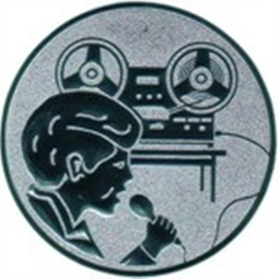 Emblem Discjockey (DJ)