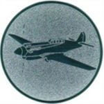 Emblem Motorflugzeug