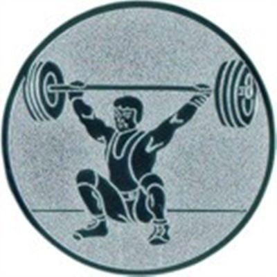 Emblem Gewichtheben