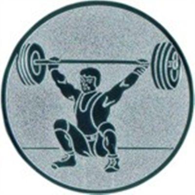 Embleme Gewichtheben