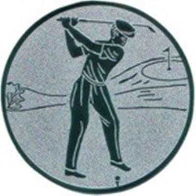 Emblem Golfspieler