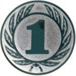 Emblem Zahl 1