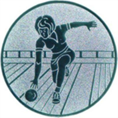 Emblem Kegeln Damen