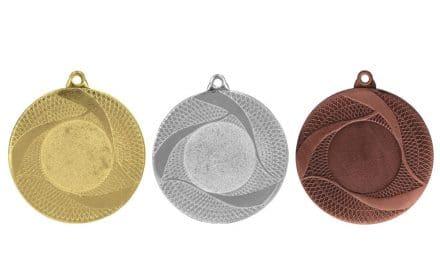 Medaillen Baden Gold, Silber, Bronze (Glanz) 50mm