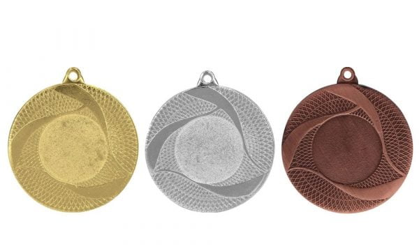 Medaillen Baden Gold-Silber-Bronze