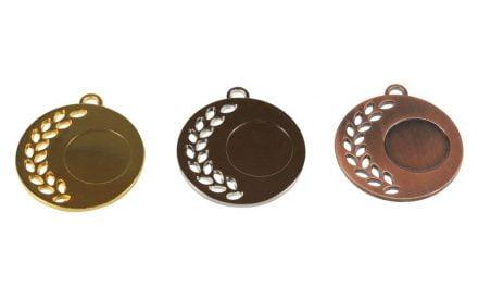 Medaillen Bern Gold, Silber, Bronze (Glanz) 50mm