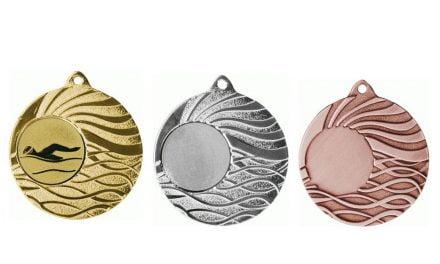 Medaillen Eisenstadt Gold, Silber, Bronze (Glanz) 50mm