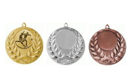 Medaillen Innsbruck Gold, Silber, Bronze (Glanz) 50mm