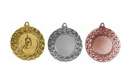 Medaillen Linz Gold, Silber, Bronze (Glanz) 45mm