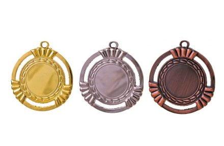 Medaillen Salzburg Gold, Silber, Bronze (Glanz) 50mm