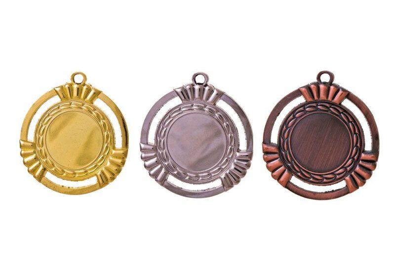 Medaillen Salzburg Gold-Silber-Bronze