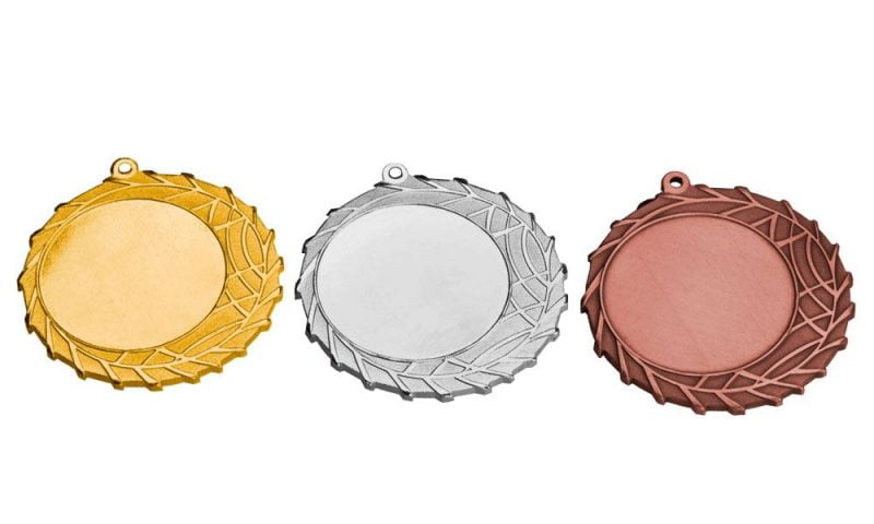 Aktionsmedaillen Tirol Gold, Silber, Bronze (Glanz) 70mm