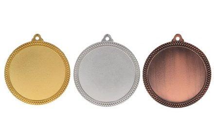Medaillen Tulln Gold, Silber, Bronze (Glanz) 60mm