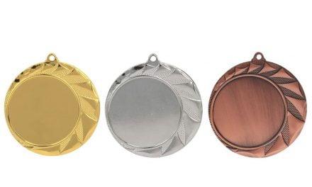 Medaillen Villach Gold, Silber, Bronze (Glanz) 70mm