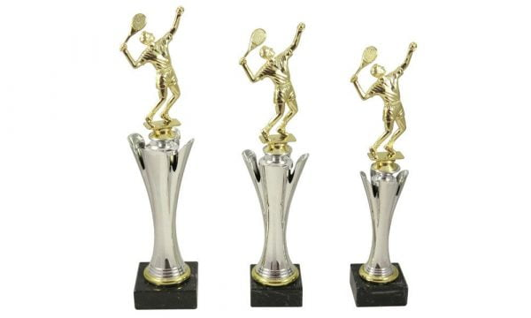 Tennispokale mit Figur Herren - Pokale Kreisern