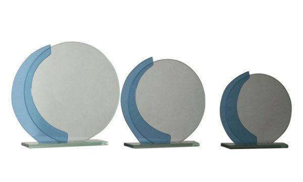 Glasständer Wien mit Spiegel