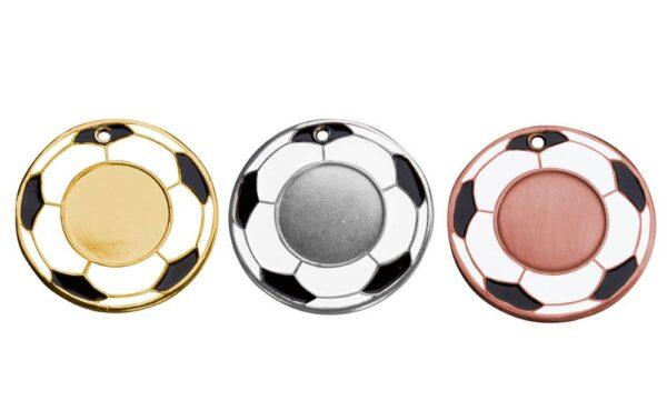 Fußballmedaillen Frankfurt gold silber bronze