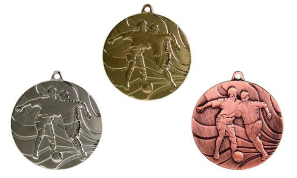 Fußballmedaillen Innsbruck gold silber bronze
