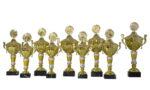 Keramikpokalserie Imst silber-gold