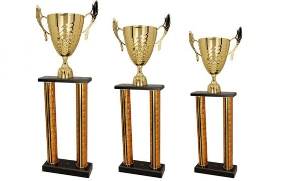 Säulenpokale Wien gold-silber - Pokale Kreisern - Ihr Spezialist für Säulenpokale
