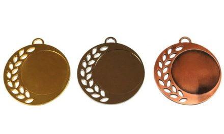 Medaillen Burgenland Gold, Silber, Bronze (Glanz) 70mm