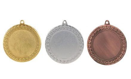 Medaillen Mistelbach Gold, Silber, Bronze (Glanz) 70mm