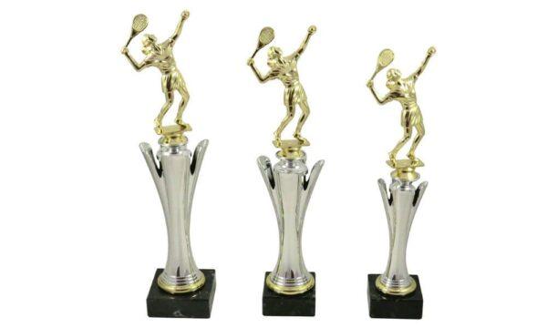 Tennispokale mit Figur Damen - Pokale Kreisern