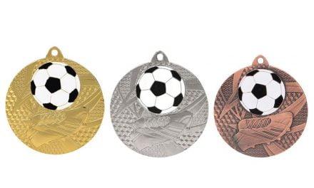 Fußballmedaillen Austria Gold, Silber, Bronze (Glanz) 50mm