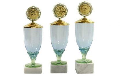 Glaspokale Osttirol 3er Serie 32cm-34cm