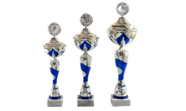 Pokale Zederhaus silber-blau - Pokale Kreisern - Ihr Spezialist für Sportpreise