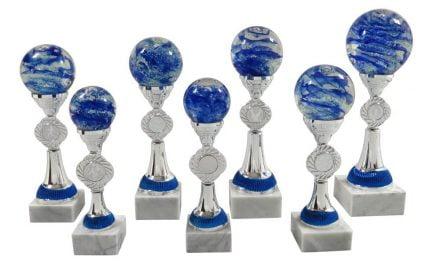 Glaskugeln Wels 7er Serie 22cm-32cm