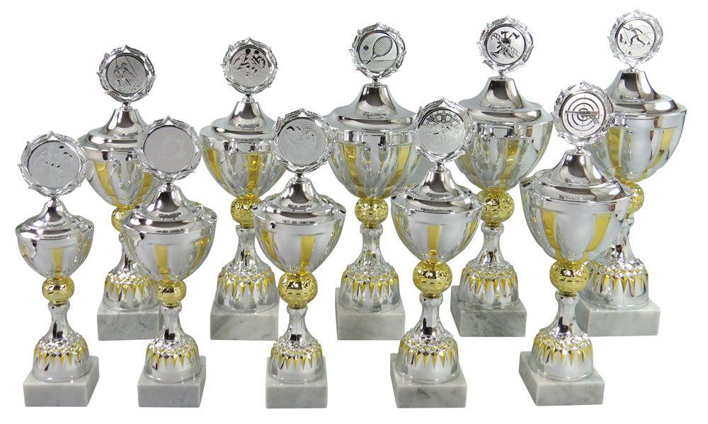 Pokale Pokal Pokale mit Gravur silber 31 cm 32 cm 33 cm