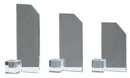 Glasständer Gießen 3er Serie 16cm-22cm