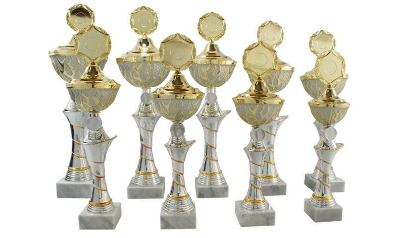 Keramikpokale Nauders 9er Serie 35cm-49cm
