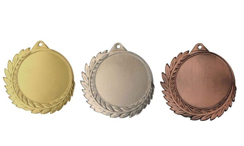 Aktionsmedaillen Kitzbühel Gold, Silber, Bronze (Glanz) 70mm