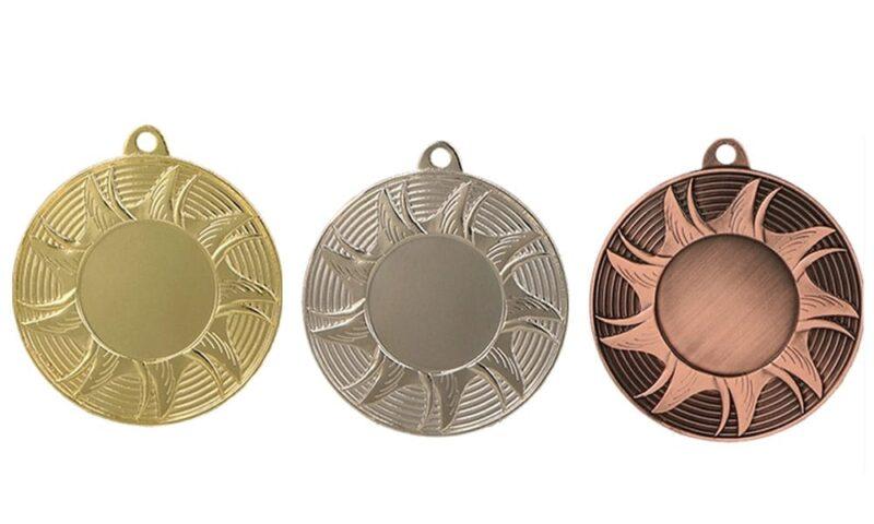 Aktionsmedaillen München Gold, Silber, Bronze (Glanz) 50mm