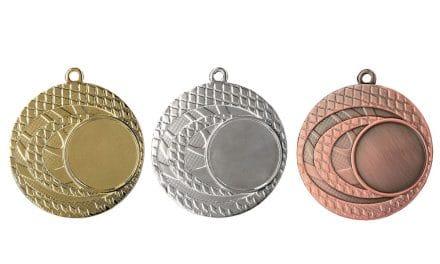 Medaillen Kärnten Gold, Silber, Bronze (Glanz) 50mm