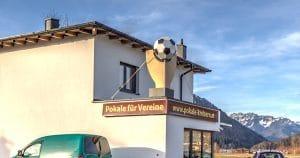 Wir vergrößern uns: Neues Betriebsgebäude von Sportpreise Kreisern 1